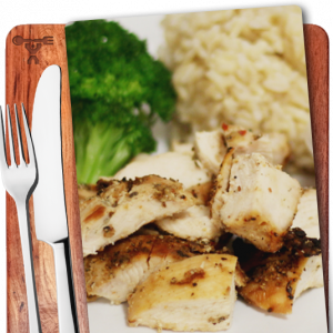 Grilled Chicken, Brown Rice, Broccoli, Prepped meals, Nashville, Music City Fit Meals - image
