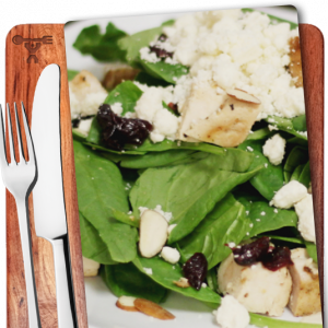 Grilled Chicken, Organic Spinach, Prepped meals, Nashville, Music City Fit Meals - image